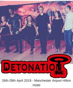 Curtain call for Staff members of Detonation Dance 2018